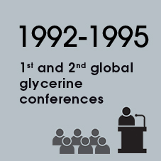 1992-1995 1st and 2nd global glycerine conferences