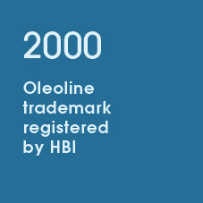 2000 Oleoline trademark registered by HBI