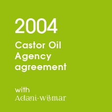 2004 Castor Oil Agency agreement with Adani-wilmar
