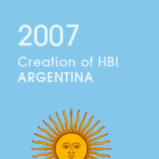 2007 Creation of HBI ARGENTINA