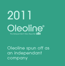 2011 Oleoline Oleoline spun off as an independant company