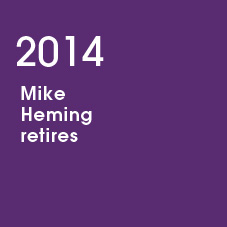 2014 Mike Heming retires