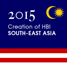 2015 Creation of HBI Singapore